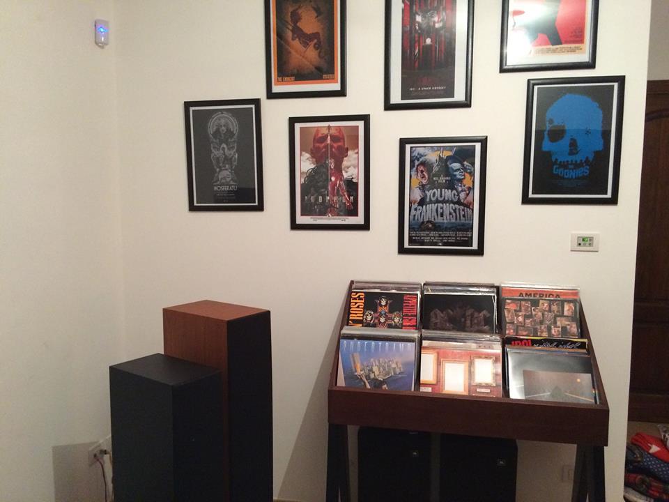 mobile porta dischi vintage Vinyl-One