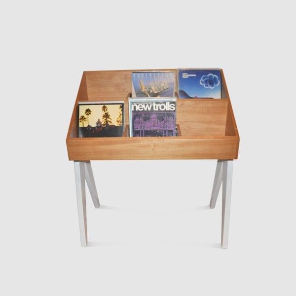 mobile per vinili vintage Vinyl-One White