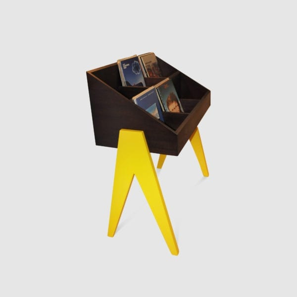 mobile per dischi vintage Vinyl-One Yellow