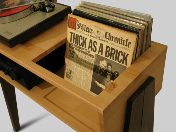 inyl record cabinet and record player holder mobile porta dischi vinile e giradischi