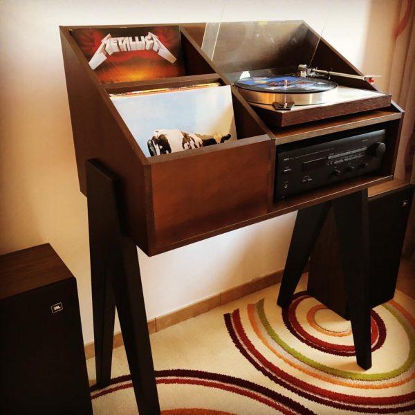 VinylMistake VinylStyle - Vinyl storage and turntable stands
