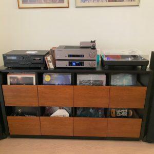 Vinyl720 - 4 x 2 storage cabinet