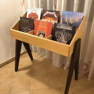 vinyl record stand